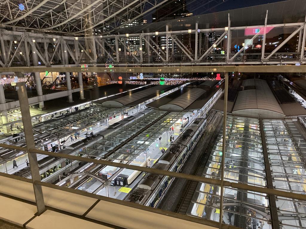 2019大阪駅イルミネーション